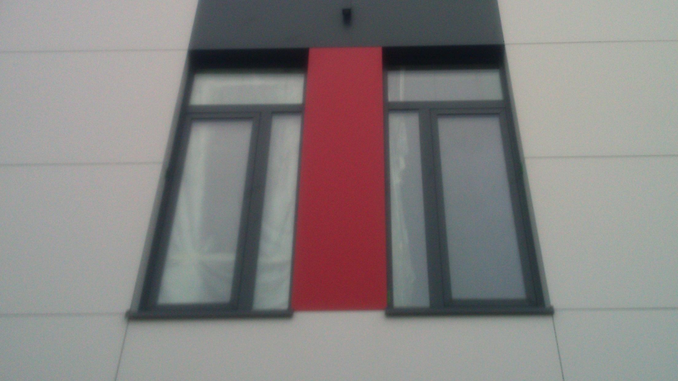 Budynek usługowo handlowy płyty HPL 2