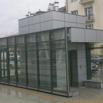 Punkt informacyjny, Warszawa pl. Szembeka