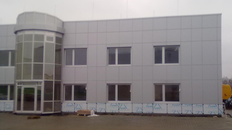 budynek biurowo produkcyjny wąbrzeźno alucobond 1