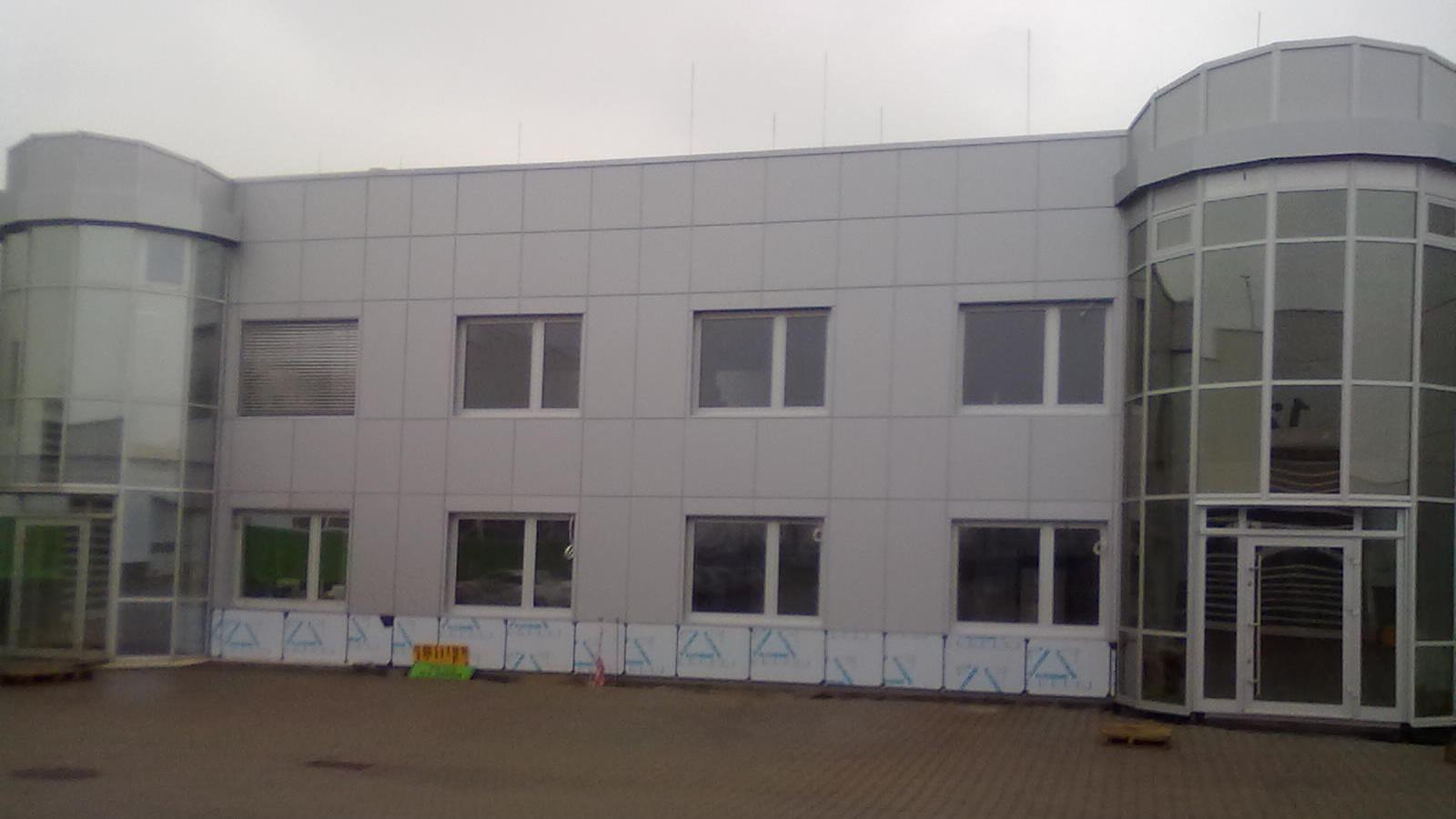 budynek biurowo produkcyjny wąbrzeźno alucobond 2