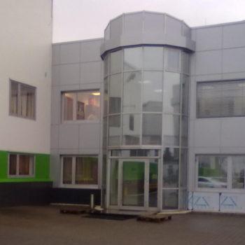 budynek biurowo produkcyjny wąbrzeźno alucobond 3
